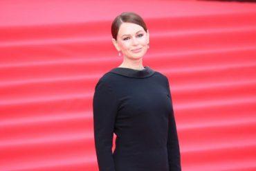 "Irina Bezrukova in the most concise dress ""MIFF-2019"""