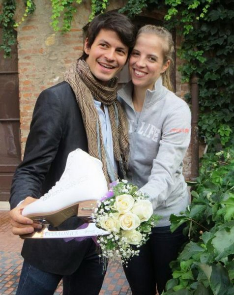 Stéphane Lambiel: personal life (wife, children)