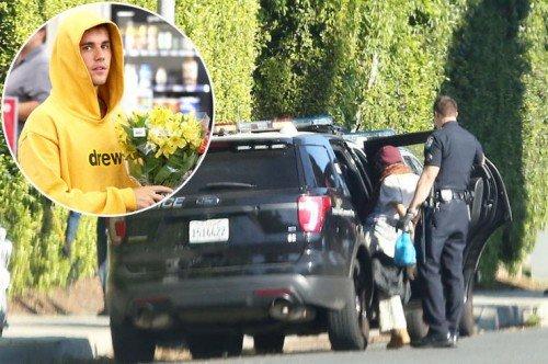 Около дома Джастина Бибера и Хейли Болдуин была арестована девушка