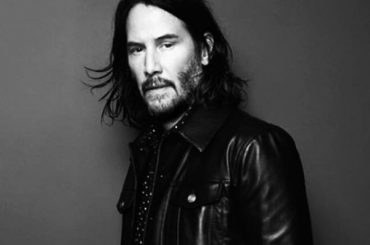 Keanu Reeves has become the new face of Saint Laurent