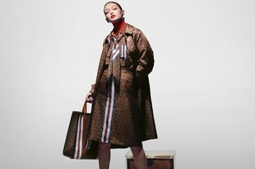 From Tomboy to lady: Gigi Hadid in a different way starred in a new campaign for Burberry