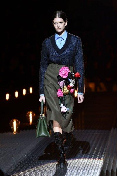 Модный дом Prada объявил об отказе от натурального меха в своих коллекциях