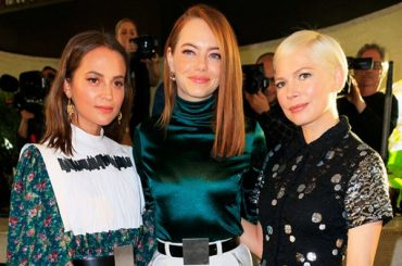 Alicia Vikander, Emma stone, Natalia Vodianova, cate Blanchett and other stars on the show Louis Vuitton Cruise 2020