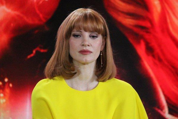 Джессика Честейн и Джеймс МакЭвой представили новых «Людей Икс» в Москве