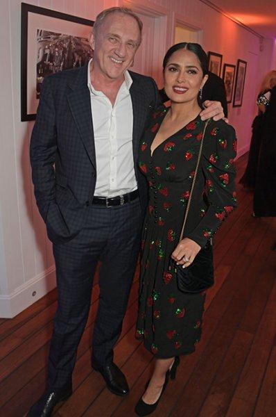 Памела Андерсон с сыном, Сальма Хайек, Дита фон Тиз и другие на вечеринке Vanity Fair и Chopard в Каннах