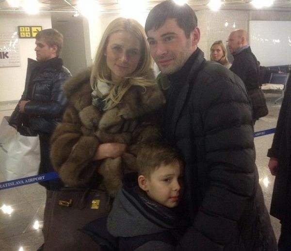 Alexander Popov wife and children. Personal life