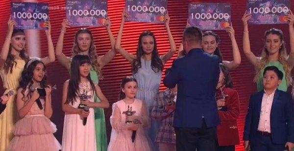 Объявлены новые итоги шестого сезона шоу «Голос. Дети»