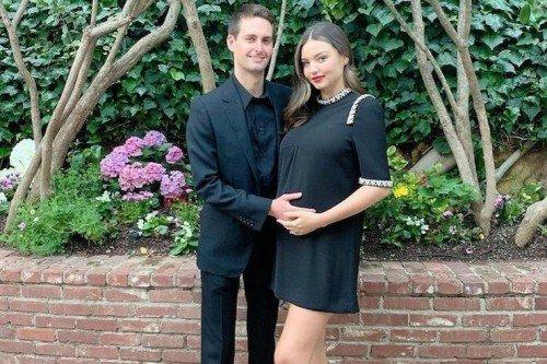 Миранда Керр рассказала о семейной жизни с Эваном Шпигелем накануне родов