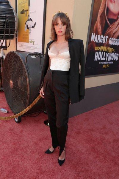Дочь Умы Турман затмила звезд на премьере фильма «Однажды... в Голливуде»