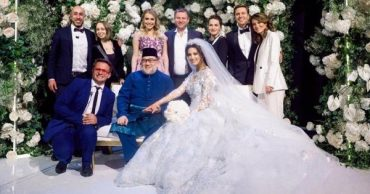 The divorce that never was: Oksana Vojvodina and the former king of Malaysia still together