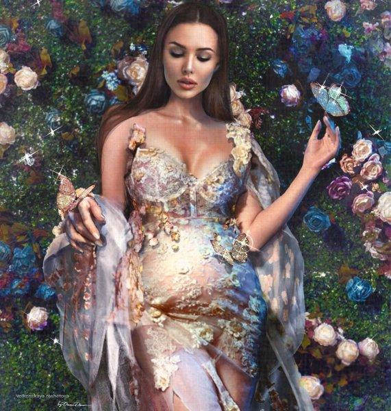 Анастасия Решетова предстала в образе феи и рассказала о бизнесе в Казахстане