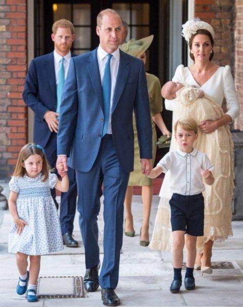5-летний принц Джордж сыграл матч с теннисистом Роджером Федерером