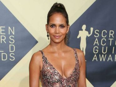 Halle berry blew a racy Instagram photo on the day of his 53rd birthday