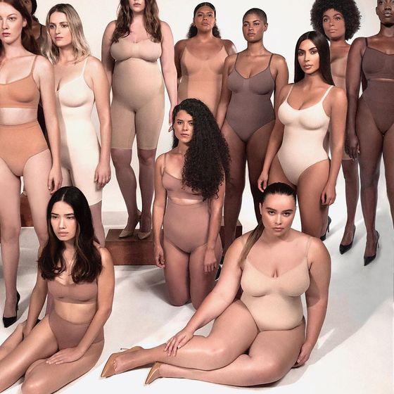 Ким Кардашьян пошла на поводу у японцев и переименовала свою дебютную коллекцию нижнего белья