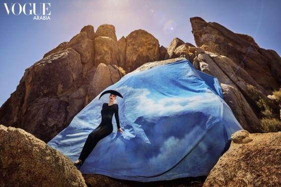 Ким Кардашьян снялась для Vogue Arabia и рассказала, почему жалеет о встрече с Канье Вестом