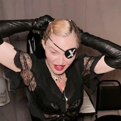 «Изюминка» изысканного образа Мадонны…