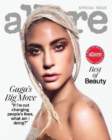 Леди Гага стала лицом журнала Allure