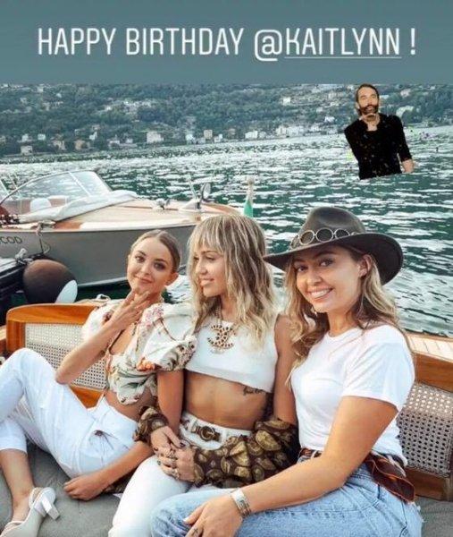 Майли Сайрус отпраздновала день рождения своей девушки, устроив фотосессию