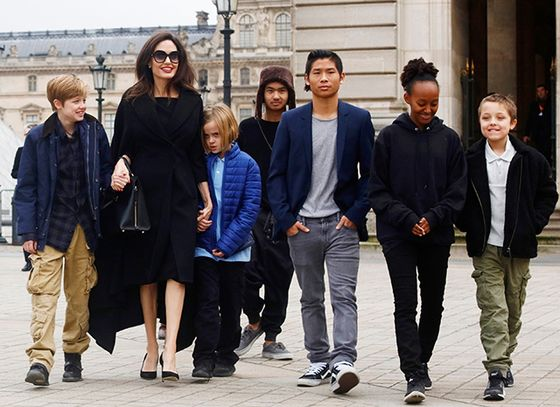 Анджелина Джоли в седьмой раз станет мамой