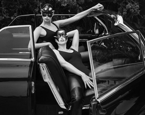 Ирина Шейк и Адриана Лима снялись для обложки Vogue