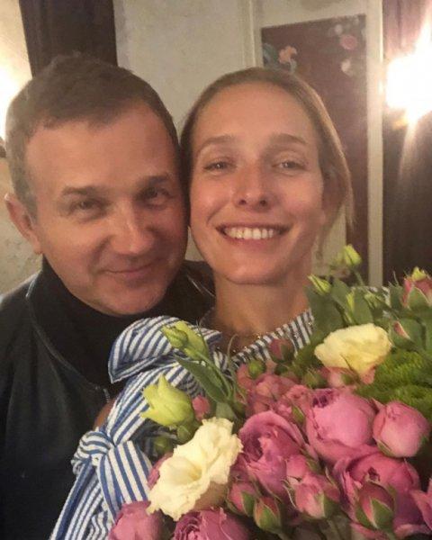 Катя Осадчая поздравила с Днём рождения своего старшего сына