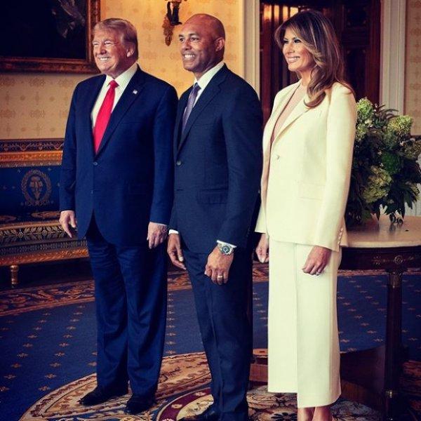 Мелания Трамп опозорилась на торжественном мероприятии в Белом Доме.