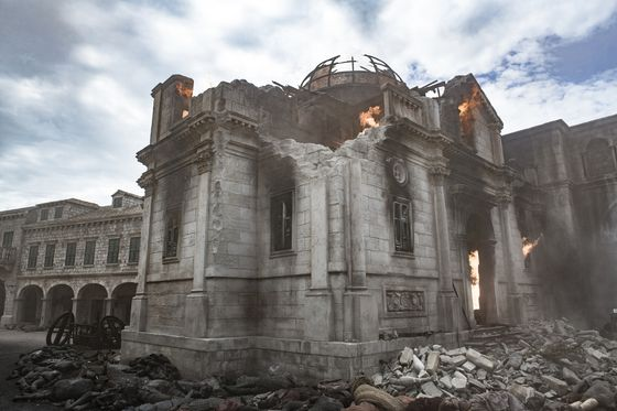 Ради «Игры Престолов» создатели сожгли город
