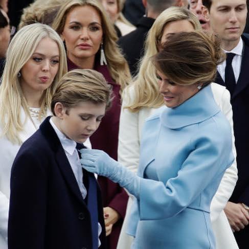 Сыну Дональда Трампа до сих пор дарят подарки