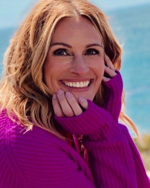 Именинница Джулия Робертс: знаменитой красотке 52!