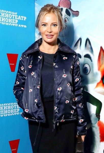Дана Борисова приехала на премьеру мультфильма без дочки Полины