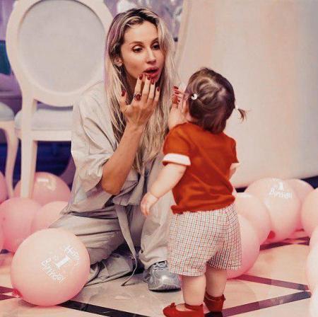 Спустя 6 месяцев Светлана Лобода показала фотографии со Дня рождения ее младшей дочери