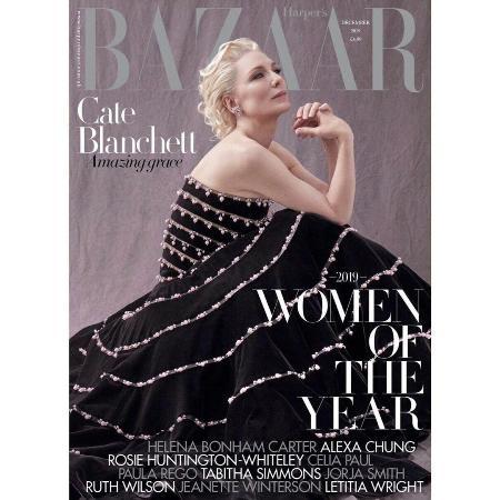 Кейт Бланшетт стала лицом журнала Bazaar и рассказала про свое отношение к феминизму