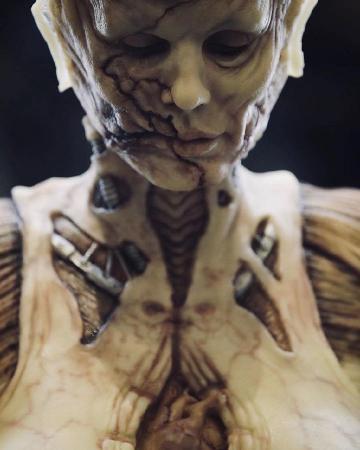 Самым лучшим костюмом на Хэллоуин 2019 стал костюм зомби от Хайди Клум
