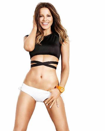 Кейт Бекинсейл рассказала, как ей удается поддерживать тело в идеальной форме