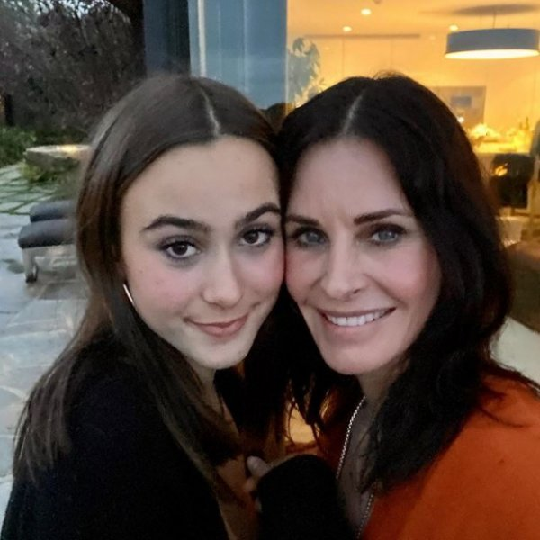 Кортни Кокс и её дочь Коко похожи словно близнецы