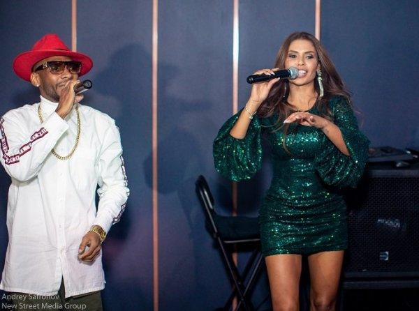 Бразильская певица GABI собрала друзей на презентацию своего горячего клипа