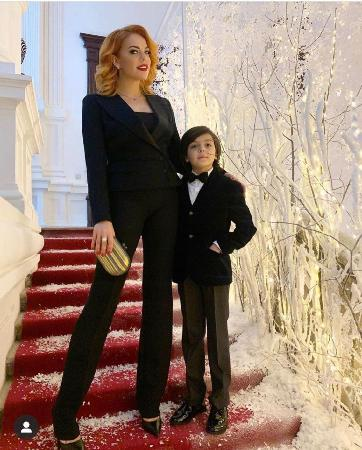 Daughter Anastasia Stotskaya spitting image of Philip Kirkorov