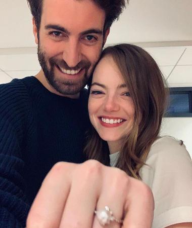 Эмма Стоун впервые выйдет замуж