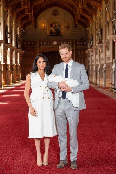 Принц Гарри, Меган Маркл и малыш Арчи займут главное место в первой рождественской открытке семьи