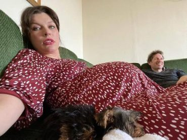 Milla Jovovich told fans about the bad health in the last stages of pregnancy