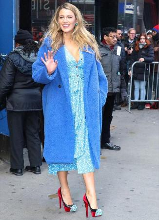 Blake lively was first told, how to cope with up to three children