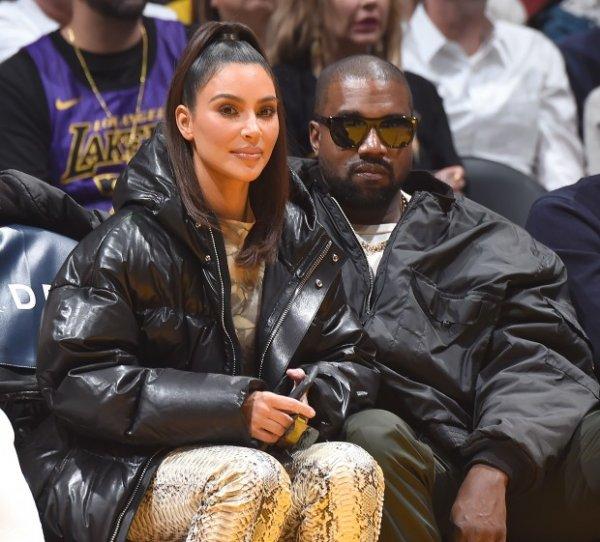 Ким Кардашьян и Канье Уэст посетили игру команды «Кливленд», в команде которой бывший Хлои Кардашьян – Тристан Томпсон