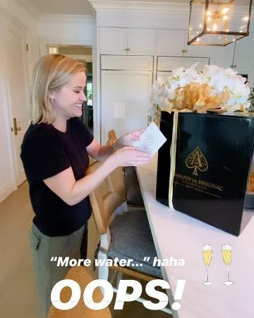 Риз Уизерспун получила неожиданный подарок от Бейонсе