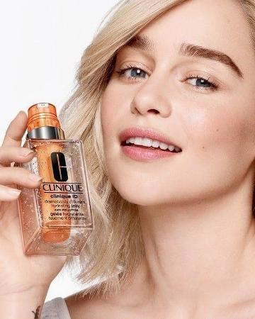 Emilia Clarke has become the face of famous cosmetic brand