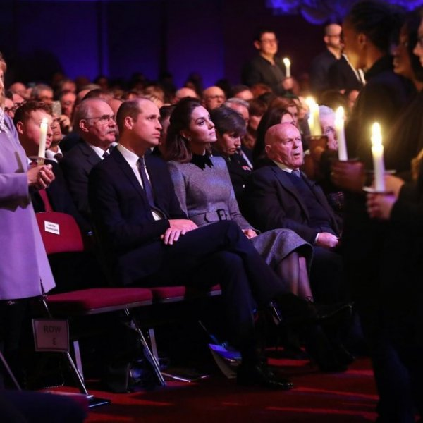 Кейт Миддлтон рассказала о Холокосте своему сыну, принцу Джорджу