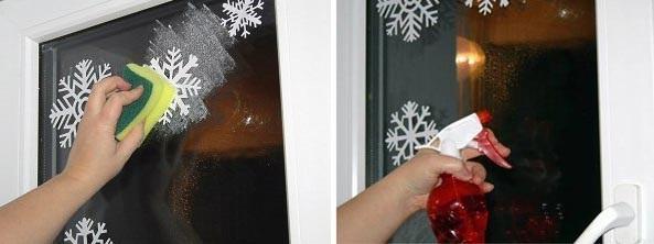 Снежинки своими руками на окна видео 29
