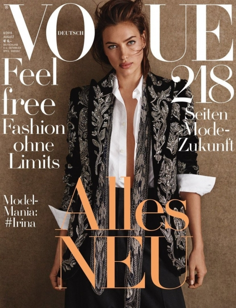 Знаменитые супермодели украсили 5 обложек Vogue Germany