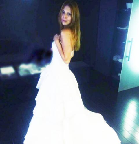 Natalia podolskaya has again become a bride celebrity news for How to become a wedding dress model