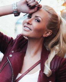 TV presenter Ekaterina Varnava shot in a candid photo shoot for the men&#39