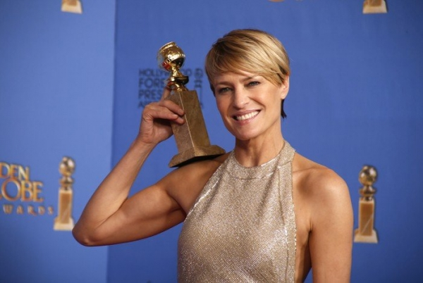 51-year-old actress Robin Wright posed naked - Celebrity News